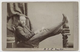 William Thomas Stead, by London Stereoscopic & Photographic Company - NPG x24952