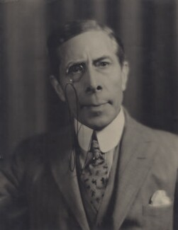 George Arliss, by Fred R. Archer - NPG x25011