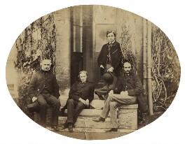 Hon. Robert Bruce; Herbert William Fisher; King Edward VII; Frederick Charles Keppel, by Hills & Saunders - NPG x25018