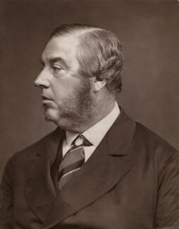George Sclater-Booth, 1st Baron Basing, by Lock & Whitfield - NPG x252