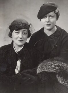 Madge Titheradge; Edna Best, by Stage Photo Company - NPG x25919