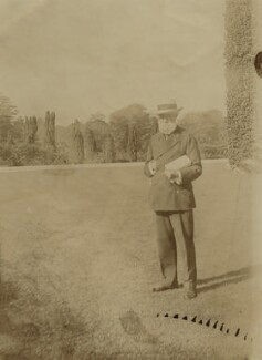 John Lubbock, 1st Baron Avebury, by Unknown photographer, 1900s - NPG x26099 - © National Portrait Gallery, London