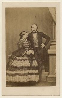 Queen Victoria; Prince Albert of Saxe-Coburg-Gotha, by John Jabez Edwin Mayall - NPG x26102