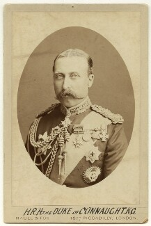 Prince Arthur, 1st Duke of Connaught and Strathearn, by Maull & Fox - NPG x26137