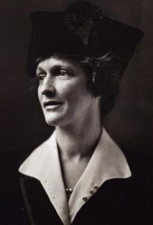 Nancy Astor, Viscountess Astor, by George Charles Beresford, 22 December 1920 - NPG x125 - © National Portrait Gallery, London