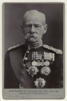 Frederick Sleigh Roberts, 1st Earl Roberts, by London Stereoscopic & Photographic Company - NPG x26374