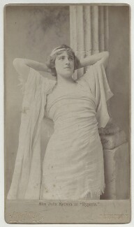 Julia Emilie Neilson as Hypatia in 'Hypatia', by Alfred Ellis - NPG x26415
