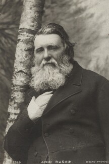 John Ruskin, published by Rotary Photographic Co Ltd, after  Herbert Rose Barraud - NPG x26520