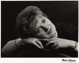 Dame Muriel Spark, by Mark Gerson - NPG x26526