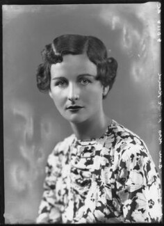 Nancy Mitford, by Bassano Ltd - NPG x26632