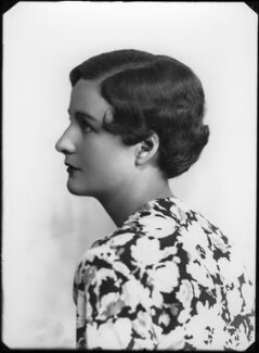 Nancy Mitford, by Bassano Ltd - NPG x26633