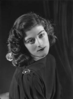 Sarah Churchill, by Bassano Ltd, 27 November 1935 - NPG x26662 - © National Portrait Gallery, London