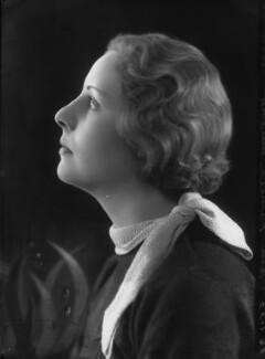 Pamela Jackson (née Freeman-Mitford), by Bassano Ltd - NPG x26711