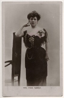 Marie Tempest, by Lallie Charles (née Charlotte Elizabeth Martin), published by  Birn Brothers, 1900s - NPG x26740 - © National Portrait Gallery, London