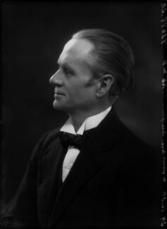 Sir (Ralph) Norman Angell (né Ralph Norman Angell Lane), by Bassano Ltd, 29 December 1930 - NPG x26742 - © National Portrait Gallery, London