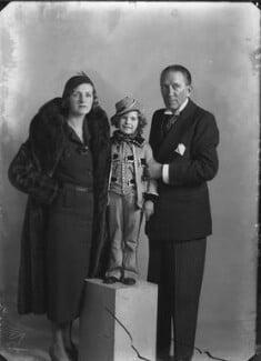 Sally Pearson (née Cooper); Dame Gladys Cooper; Sir Gerald Du Maurier, by Bassano Ltd - NPG x26774