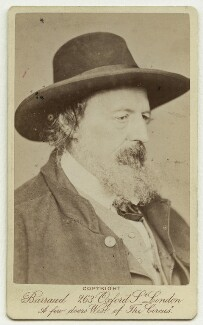 Alfred, Lord Tennyson, by Herbert Rose Barraud - NPG x26785