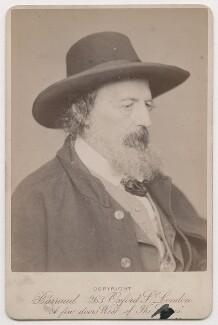 Alfred, Lord Tennyson, by Herbert Rose Barraud - NPG x26786