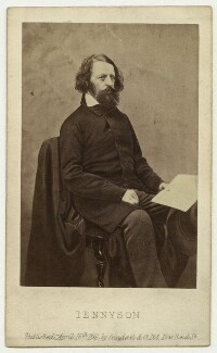Alfred, Lord Tennyson, by James Mudd, published by  Cundall, Downes & Co - NPG x26790
