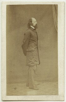 Alfred, Lord Tennyson, by William Jeffrey - NPG x26792
