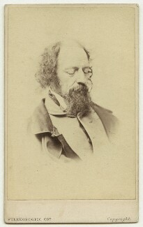 Alfred, Lord Tennyson, by London Stereoscopic & Photographic Company - NPG x26796