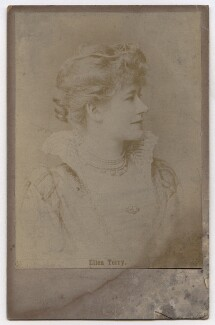 Ellen Terry as Beatrice in 'Much Ado About Nothing', after Window & Grove, 1882 - NPG  - © National Portrait Gallery, London