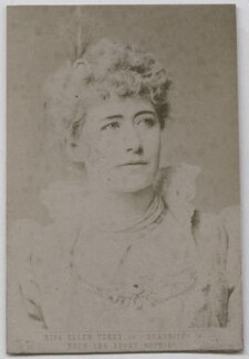 Ellen Terry as Beatrice in 'Much Ado About Nothing', by Window & Grove - NPG x26810