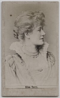 Ellen Terry as Beatrice in 'Much Ado About Nothing', after Window & Grove - NPG x26811