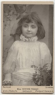Minnie Terry, by Herbert Rose Barraud - NPG x26854