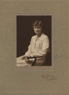 Anne Thesiger, by Fred Bremner - NPG x26858
