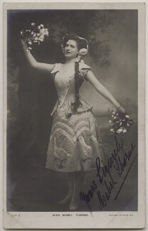 Mabel Thorne, published by Rotary Photographic Co Ltd - NPG x26900