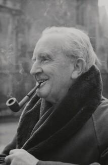 J.R.R. Tolkien, by John Wyatt - NPG x26910