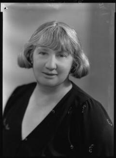 Gladys Bertha ('G.B.') Stern, by Bassano Ltd - NPG x27017
