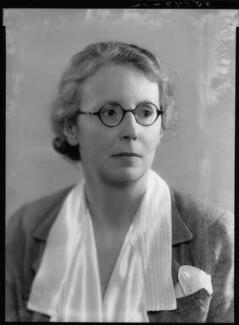 Phyllis Eleanor Bentley, by Bassano Ltd - NPG x27033