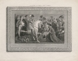 The Entry of James I into London (King James I of England and VI of Scotland), by James Parker, after  Thomas Stothard - NPG D10610