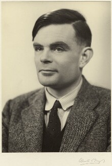 Alan Turing, by Elliott & Fry, 29 March 1951 - NPG  - © National Portrait Gallery, London