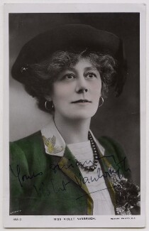 Violet Vanbrugh (Violet Augusta Mary Barnes), by Bassano Ltd, published by  Rotary Photographic Co Ltd - NPG x27118