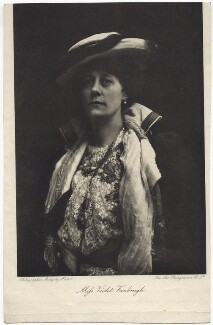 Violet Vanbrugh (Violet Augusta Mary Barnes), by Art Photogravure Co Ltd, after  Ernest Walter Histed - NPG x27119