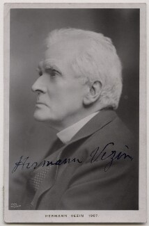 Hermann Vezin, by Edwin Hagley - NPG x27125