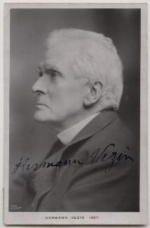 Hermann Vezin, by Edwin Hagley, 1907 - NPG x27125 - © National Portrait Gallery, London