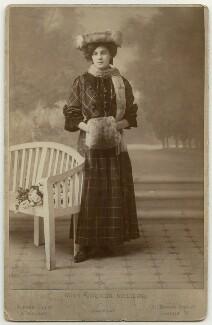 Gwenda Villiers, by Alfred Ellis & Walery - NPG x27131