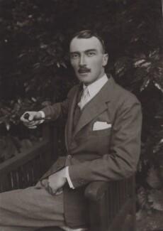 Dornford Yates (Cecil William Mercer), by Dufau - NPG x27150