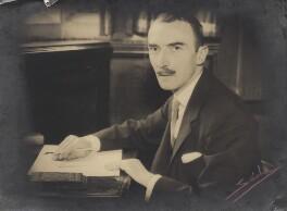Dornford Yates (Cecil William Mercer), by Sasha (Alexander Stewart), 10 July 1933 - NPG x27160 - © Hulton Archive/Getty Images