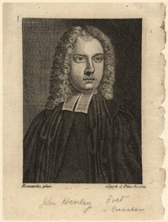 Samuel Croxall, by Clark & Pine, after  Bonawitz - NPG D10611
