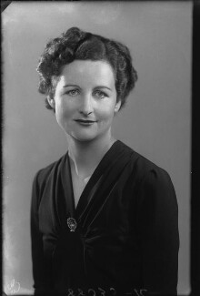 Nancy Mitford, by Bassano Ltd - NPG x27172