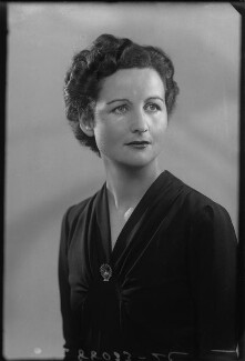 Nancy Mitford, by Bassano Ltd - NPG x155204