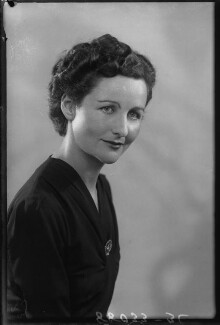 Nancy Mitford, by Bassano Ltd - NPG x27173