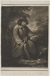 Peter the Wild Boy, by Valentine Green, after  Pierre-Étienne Falconet - NPG D10599