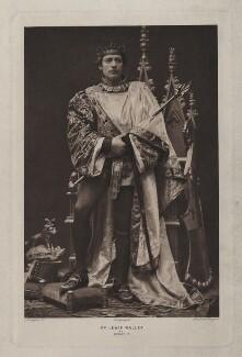 Lewis Waller (William Waller Lewis) as Henry V in 'Henry V', by Langfier Ltd, 1905 - NPG  - © National Portrait Gallery, London