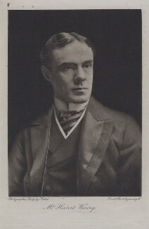 Herbert Waring, by Ernest Walter Histed - NPG x27269
